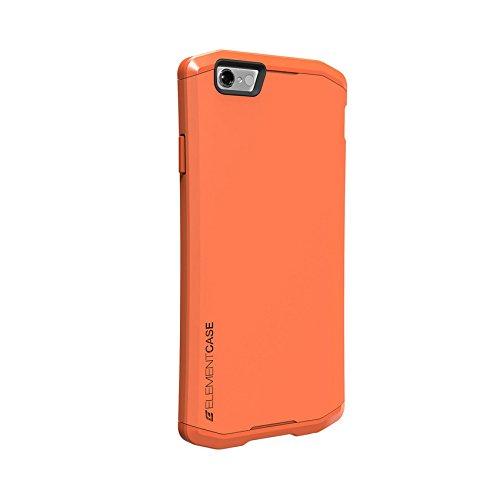 Element Case emt-322-100E-04 Aura Schutzhülle für Apple iPhone 6 Plus/6S Plus coral Coral