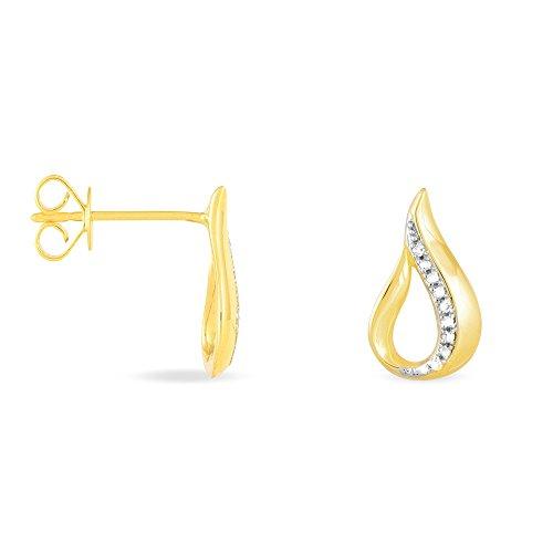 HISTOIRE D'OR - Boucles d'Oreilles Or - Femme - Or jaune 375/1000