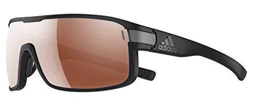 Adidas Brille ad03 ZONYK Large black matt 6055 LST Polarized