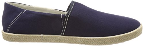 Tommy Jeans Summer Slip On Shoe, Mocassins Homme Bleu (Ink 006)