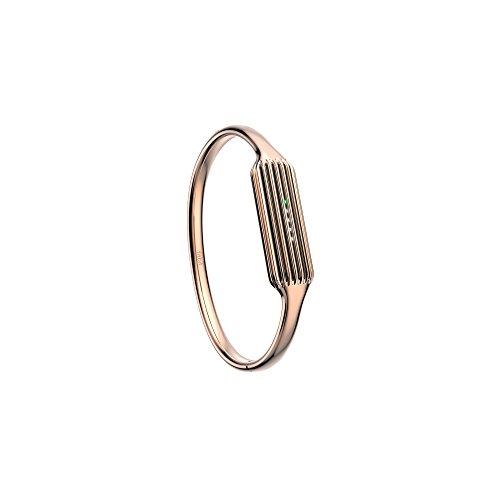 Fitbit Flex 2 - Brazalete para Fitbit Flex 2 chapado en oro rosa de 22 K