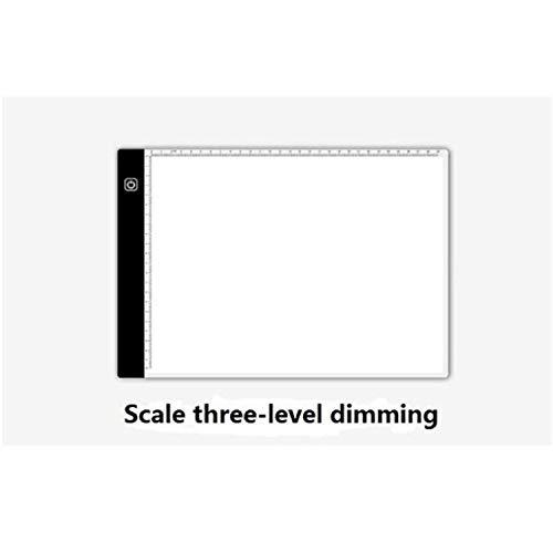 BABIFIS A4 LED-Leuchtkasten Tracer Digital Tablet Grafik Schrift Malerei Zeichnung ultradünne Tracing Copy Pad Board Artcraft Sketch D - Tablet Pad Sketch