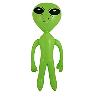 Henbrandt - Aufblasbares Grünes Alien Sience Fiction 64cm