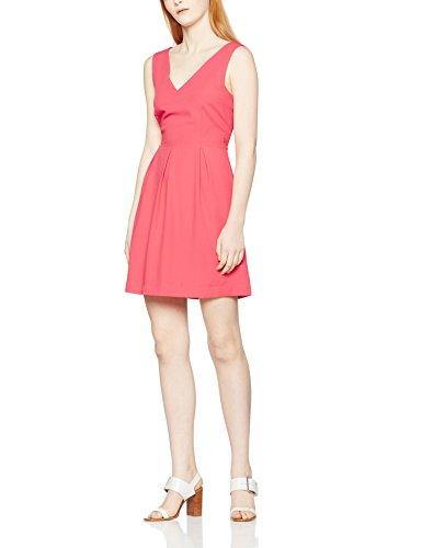 Cuple 099085, Robe Décontractée Femme Rouge (Coral)