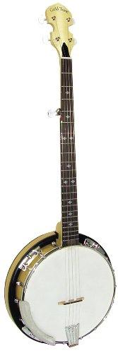 Gold ton cc-100r CRIPPLE Creek Banjo mit Resonator (Fünf String, klar Ahorn)