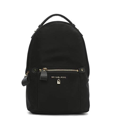 Michael Kors - Nylon Kelsey Sling Pack, Bolsos mochila Mujer, Negro (Black), 1.9x24.8x24.8 cm (B x H T)