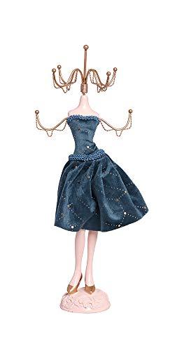 Alice's Collection Schmuckständer für Halskette, Ohrringe, Ringe, Schminktisch, Organizer, Mannequin-Ständer, Schmuckaufbewahrung, Dekorative Aufhänger für Ihren Schmuck