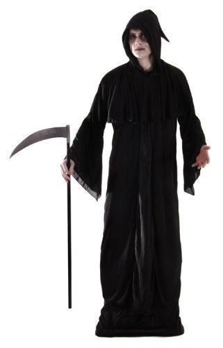 ADULT DEATH EXTRA LARGE HALLOWEEN FANCY DRESS COSTUME by ()