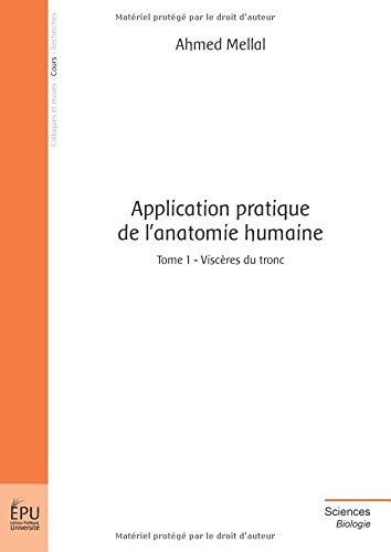 Application pratique de lanatomie humaine - Tome 1