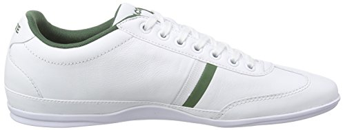 Lacoste Misano Sport 116 1, Baskets Basses Homme, Bleu, Medium Weiß (WHITE 001)