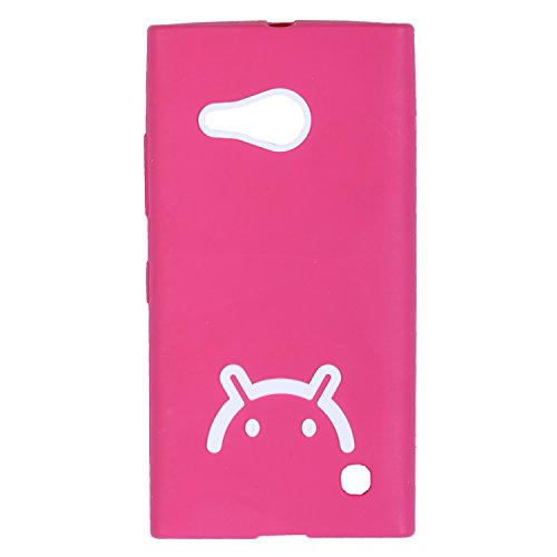 iCandy Soft TPU Back Cover For Nokia Lumia 730 - Pink  available at amazon for Rs.115