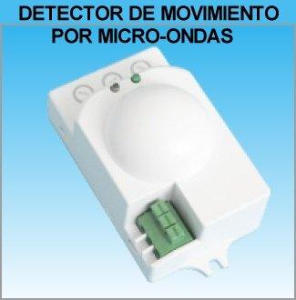 ElectroDH 60252RF DH DETECTOR DE MOVIMIENTO POR MICROONDAS