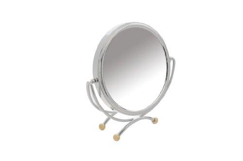 Danielle Miroir de table grossissant x 10 20 cm (Chrome)