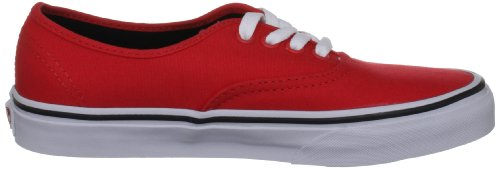 Vans U AUTHENTIC VSCQ7ZW, Sneaker unisex adulto Rosso (Rot (fiery red/black))