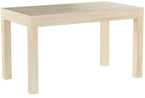Furniture24 WENUS eu Tisch Küchentisch Esszimmertisch Esstisch Ausziehbar bis 260 cm !!! (Sonoma Eiche 140-260x80)