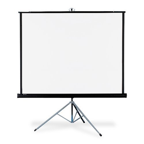 Portable Tripod Screen (Quartet Portable Tripod Projection Screen, 50 x 50 Inches, High-Resolution, Matte Surface (550S) by Quartet)