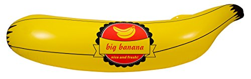 Folat Party aufblasbar – Banana (70 cm x 20 cm)