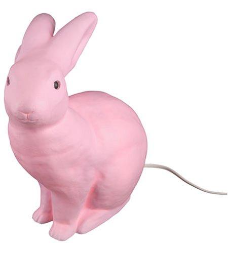 Leuchte Hase, rosa (Halloween Paar Idee)