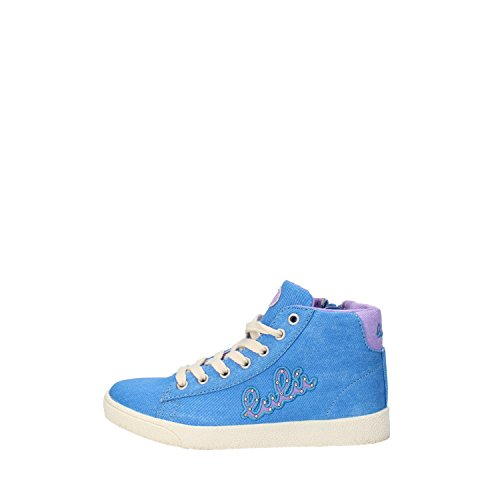 LULU bambina sneakers rosa / blu tela (32 EU, Blu)