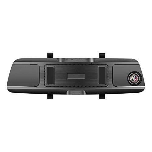 Fahrrekorder Autokameras T77 Dashcam Video Recorder 7-Zoll Touch 1080P 2.5D Vorder-und Rückseite HD Double Recording 150 ° Weitwinkel Parkplatz Monitor Unterstützung Mobile Detection Collision Locking