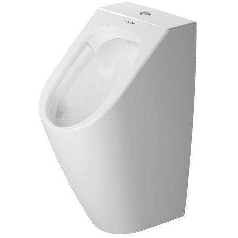 Duravit Urinal ME by STARCK rimless, weiß Zulauf von oben, HygieneGlaze, 2815302000