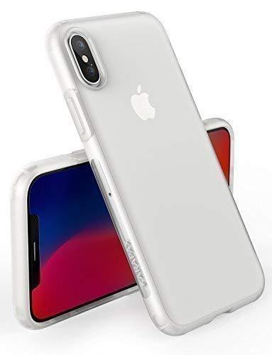 Anker iPhone X/XS Hülle, [Unterstützt kabelloses Laden (Qi)] KARAPAX Touch iPhone Handyhülle für das iPhone X/XS Edition Dünne Matte Hülle (Weiß)