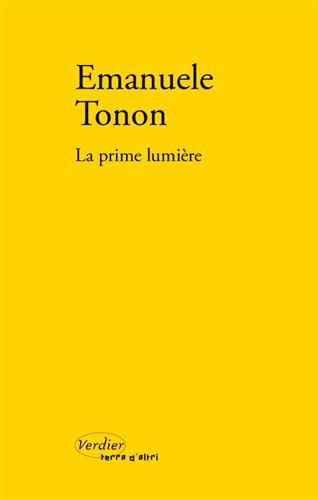 La prime lumière par Emanuele Tonon