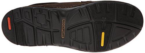 Rockport , Chaussures de ville à lacets pour homme marron foncé