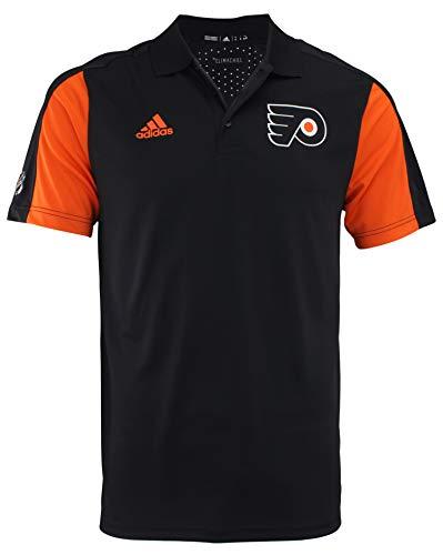 adidas St. Louis Blues NHL Herren 2017 Authentic Game Day Poloshirt, Herren, Philadelphia Flyers, Small (T-shirt Flyers Philadelphia Herren)