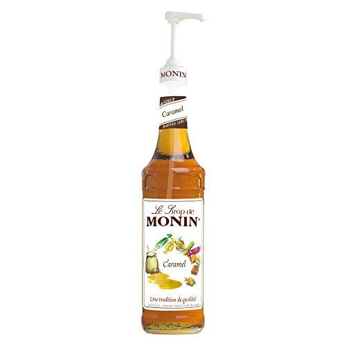 Monin Karamell 1*0,7 Liter inkl. einer Monin Dosierpumpe