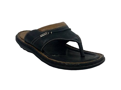 Fuzion Men's Black Slipper - 10 UK  available at amazon for Rs.499