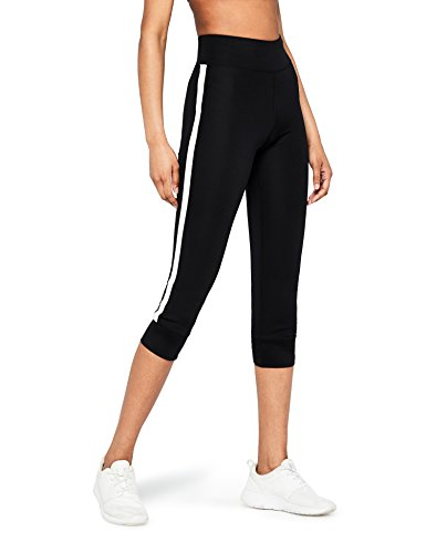 AURIQUE Side Stripe Cropped - Legging de sport - Corsaire - Femme