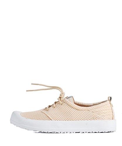 Pink Fois Gumsole Mesh Shoes-Basket-Rose Rose - Rose