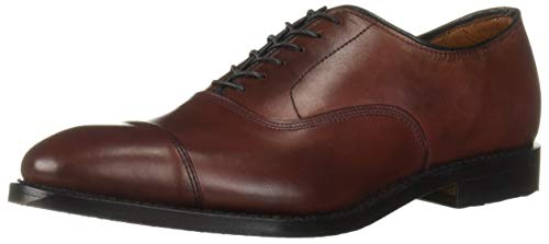 Allen Edmonds Park Avenue Herren, Rot - Oxblood - Größe: 48 EU 3E Allen Edmonds Cap Toe Oxfords