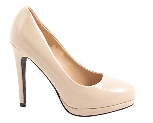 Elara Bequeme Pumps   Klassische Lack Stilettos   High Heels