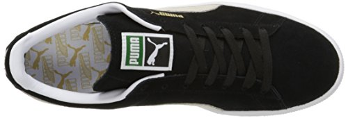 Puma Classic Plus Forever, Sneaker Uomo Nero (Black/Team Gold/White)