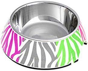 Daeou Ciotola del cane Animale domestico uso staccabile ciotola ciotola ciotola di fondo contenente antiscivolo rovere | Qualità primaria  | Di Modo Attraente  44e5fe