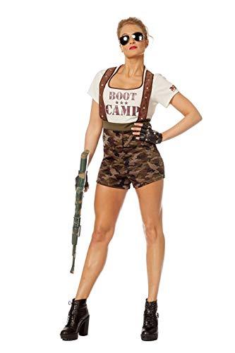 Camouflage-Kostüm Kinder Jungen Overall (ohne Kappe) Soldaten-Anzug Tarnfarbe Militärunform Armee Army Luftwaffe Marine Karneval Fasching Hochwertige Verkleidung Fastnacht Größe 34 Grün-Camouflage