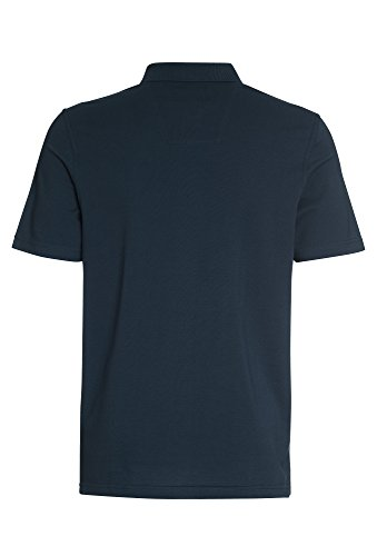 PAUL R.SMITH Poloshirt aus Baumwolle-Piqué, Herren T-Shirt,Polo,kurzarm,Freizeit,einfarbig,casual,uni Dunkelblau