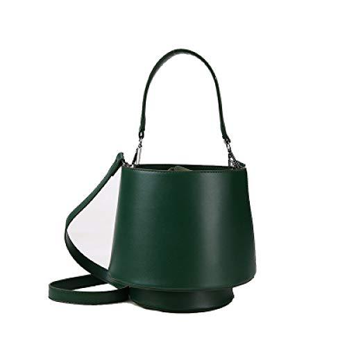 TYUJYT Umhängetasche Taschen Berühmte Designer Frauen PU Leder Handtaschen Barrel Form Tasche Schulter Crossbody Persönlichkeit Taschen Clutch (Kostüm Designer Berühmt)