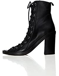 FIND Marshall, Bottines Bout Ouvert Femme