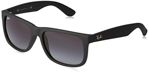Ray-Ban RB4165, Montures de Lunettes Mixte Adulte, Noir (Rubber Black/Grey), 54