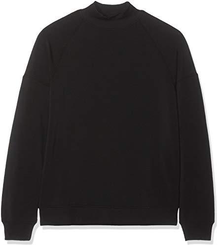 find. Soft Jersey High Neck Sweatshirt, Schwarz (Black), 46 (Herstellergröße: XXX-Large) High Neck Sweatshirt