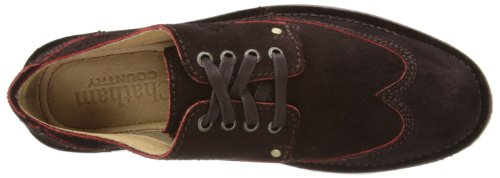Chatham Drifter, Derby Lacets homme Rouge - Bordeaux