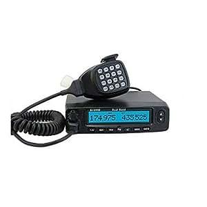 Nouveau UHF35W + VHF 45W 128CH BJ-UV55 Radio Véhicule mobile pour Bus Taxi Voiture Radio Interphone mobile avec FM LCD A0857A Fshow