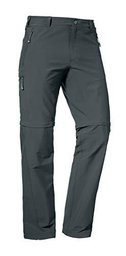 Schöffel Herren Pants Koper Zip Off Zipp, charcoal 27