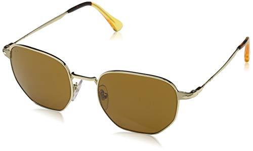 Persol Herren 0Po2446S 107633 52 Sonnenbrille, Gold/Brown