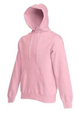 Sweatshirt * Hooded Sweat * Fruit of the Loom Rosa,L rosé,L
