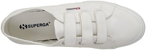 Superga Unisex-Erwachsene 2750 Cot3velu Low-Top Weiß (white)