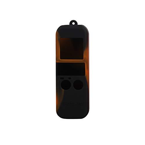 KPILP Schutzhülle aus Silikon mit Lanyard für DJI OSMO Pocket Handheld Gimbal Fashion Colour Mit Lanyard, multifunktionales professionelles Flugzeugmodell-Drohnenzubehör